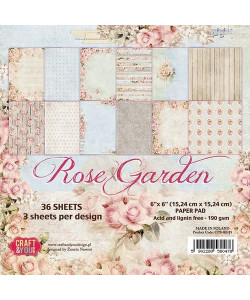 Craft and You Paperpack Rose Garden 15 x 15