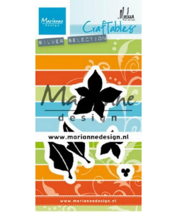 Craftables Cutting Dies Poinsettia by Marleen
