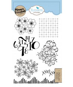 Elizabeth Craft Designs Clearstamps Patterns 1