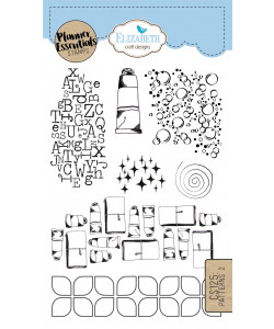 Elizabeth Craft Designs Clearstamps Patterns 2
