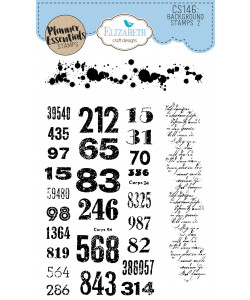 Elizabeth Craft Designs Clearstamps Background Stamps 2
