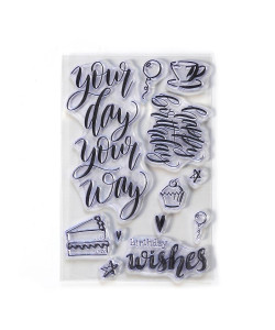 Elizabeth Craft Designs Clearstamps Your Day