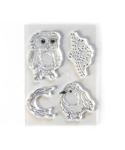 Elizabeth Craft Designs Clearstamps Bird Song