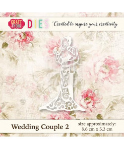 Craft and You Die Wedding Couple 2
