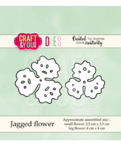 CRAFT and YOU DIE Jagged Flower