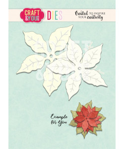 CRAFT and YOU DIE Poinsettia 2