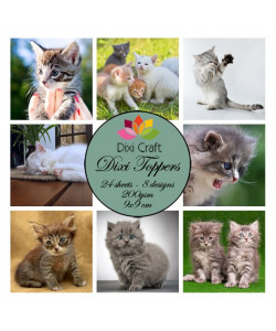Dixi Craft Toppers Katter
