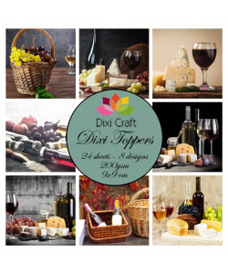 Dixi Craft Toppers Vin