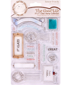 Docrafts Clearstamp The Good Life