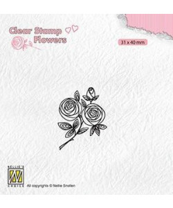 Nellie Snellen Rose Twig clearstamp