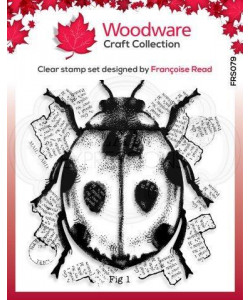 "Woodware Clearstamp ""Ladybird"""