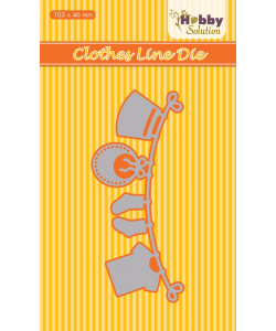 Nellie Snellen Hobby Solution Die Clothes Line