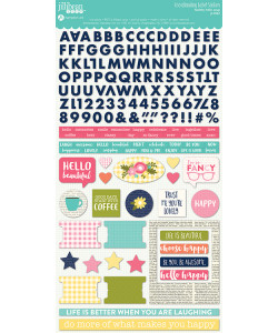 Jillibean Soup Healthy Hello Soup Collection Cardstock Stickers