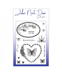 Butterfly Frames Clearstamps