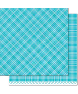 Lawn Fawn Papper Blue Raspberry