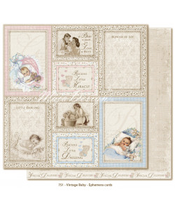 MD Vintage Baby Ephemera Cards