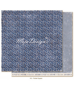 Maja Design Denim and Friends Pocket Square