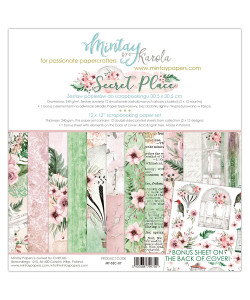 "Mintay By Karola Secret Place Paperpack 12"" x 12"""