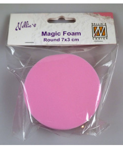 Magic Foam Round 7x3 cm