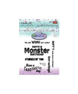 Little Monsters Collection Monster Messages Clearstamps