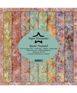 Paper Favourites Rustic Textured Paperpack 6 x 6