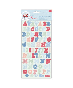 Docrafts At Home with Santa Alphabet Thicker Stickers