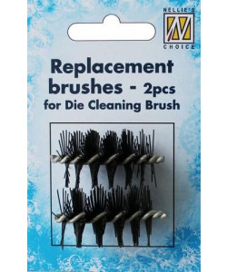 Replacement brushes 2-p