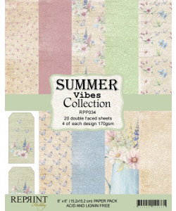 Summervibes Collection Paperpack 6 x 6
