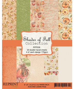 Shades of Fall Collection Paperpack 6 x 6