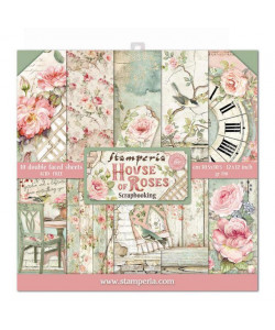 Stamperia House of Roses Block 12 x 12