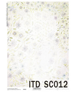 Itd Collection Scrapbooking papper 12