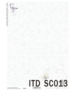Itd Collection Scrapbooking papper 13