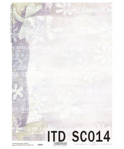 Itd Collection Scrapbooking papper 14