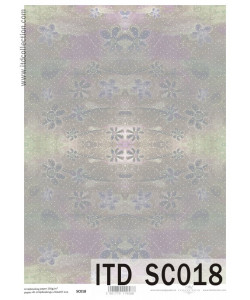 Itd Collection Scrapbooking papper 18