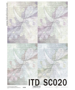 Itd Collection Scrapbooking papper Nr 20