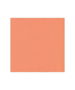 FI Linen Cardstock Light Orange 10-pack