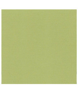 Linen Cardstock Avocado Green