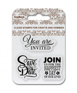 Save the Date Clearstamps