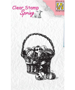 Nellie Snellen Clearstamp Easter Eggs