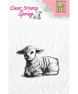 Nellie Snellen Clearstamp Spring Lamb