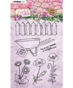 English Garden Clearstamp #433
