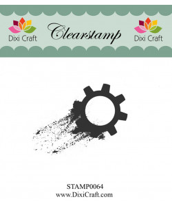 Dixi Craft clearstamp Gears