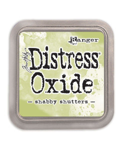 Tim Holtz distress oxide Shabby Shutters