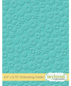 TayloredE Embossingfolder Flower Power