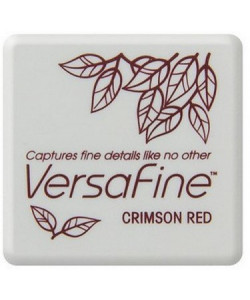 Versafine Small Crimson Red