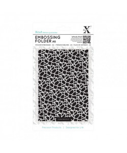 Docrafts Embossingfolder Cracked Tiles