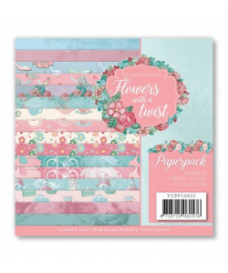Flowers with a twist Paperpack 6 x 6